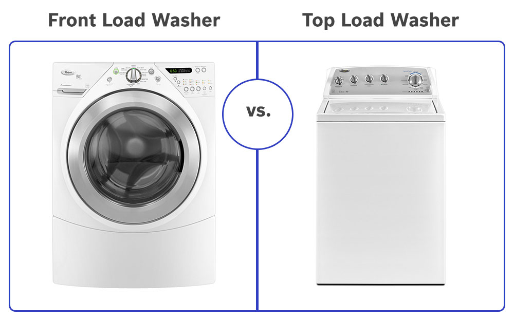front load washer vs top load washer