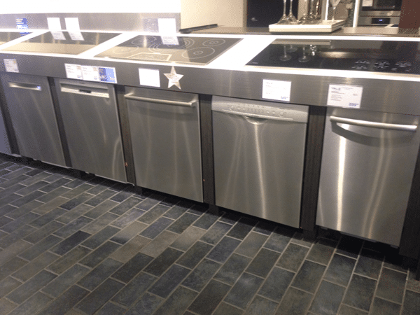 Kitchenaid vs bosch dishwashers reviews ratings prices for European appliance brands