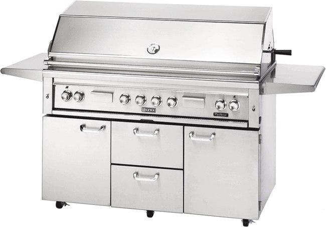 lynx 54 inch bbq grill l54psfr - Lynx Grill