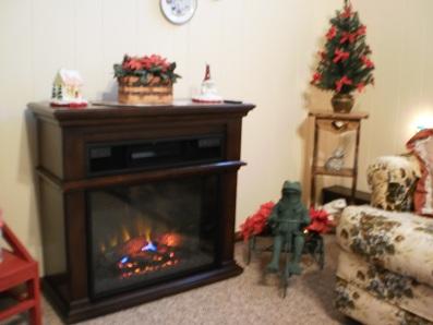 Finally a Fireplace