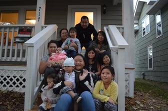 Ying and Kou's Family