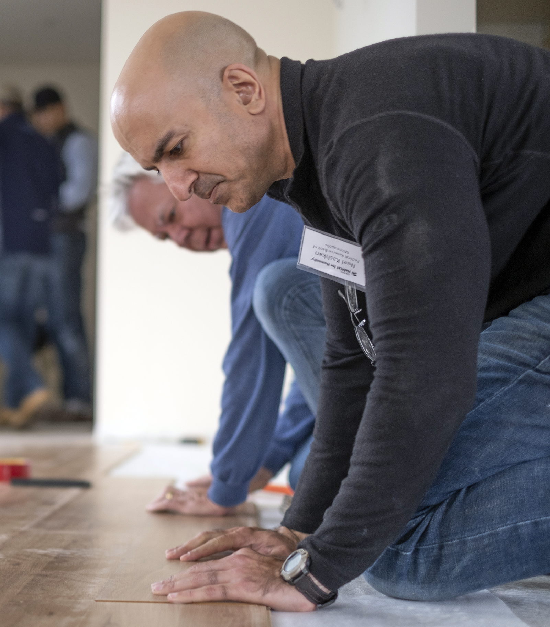 Neel Kashkari, Federal Reserve, working on flooring