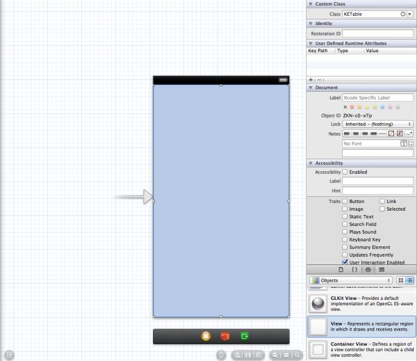 Iphone apps an xcode tutorial create tableviews using scrollviews table view subclass ketable ccuart Image collections
