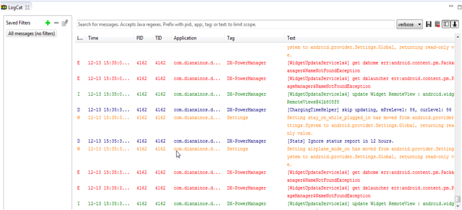 How To Customize Logcat Appearance in Android Studio | Stable Kernel