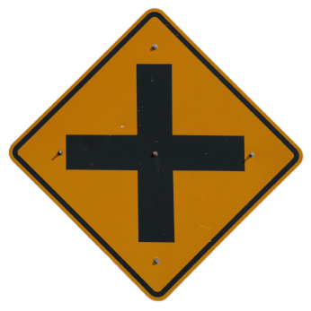 Image Gallery intersection sign Y Intersection Sign
