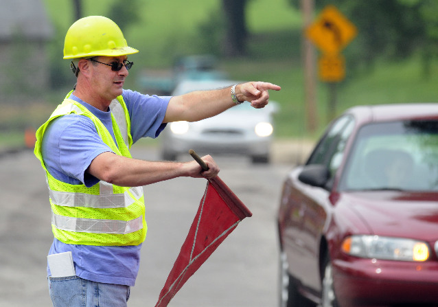 traffic safety flagman workers comp