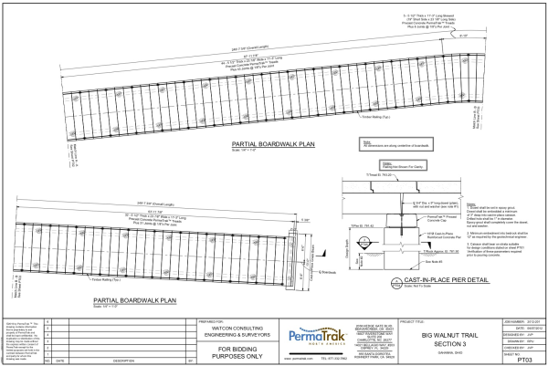 Boardwalk Design Engineering Fees For Construction Documents