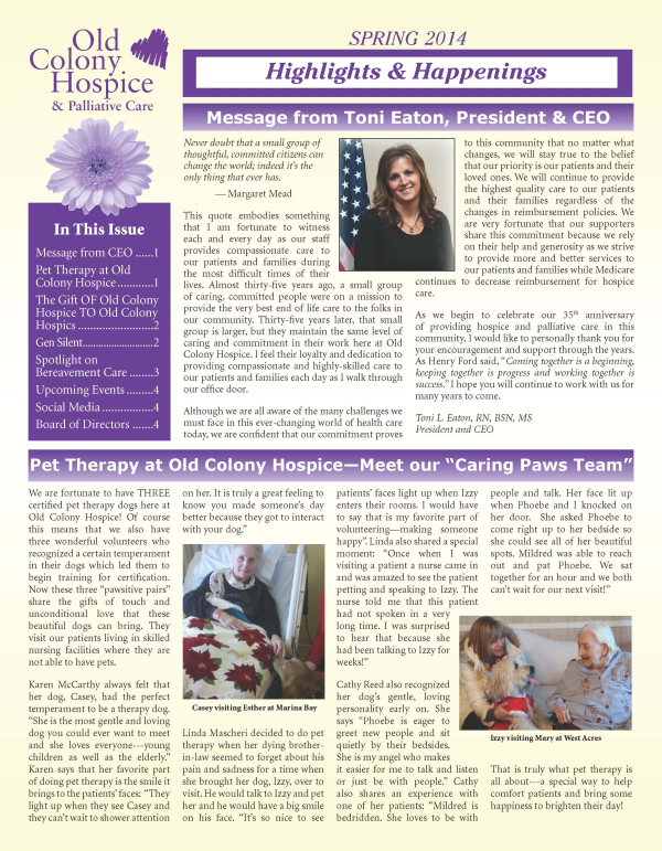 Newsletter March 2014 proof 3 Page 1 resized 600