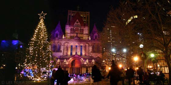 copley square boston tree lighting things to do in boston