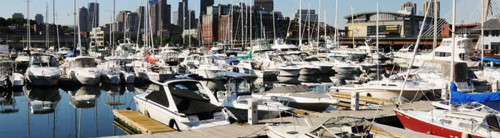 Charlestown harbor (navy pier)