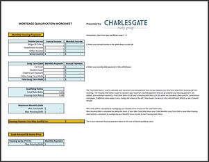 Worksheet Mortgage Worksheet mortgage affordability worksheet
