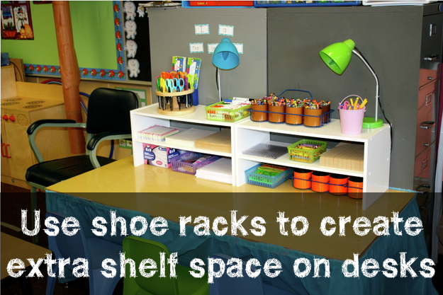 10 of my favorite classroom organization hacks for - Classroom desk organization ideas ...