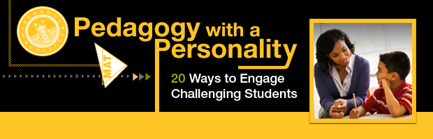 Pedagogy with a Personality