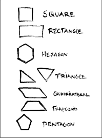 drawings of shapes