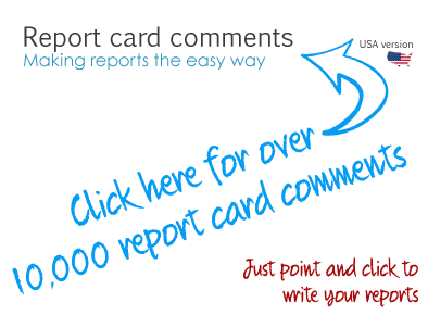 report card comments