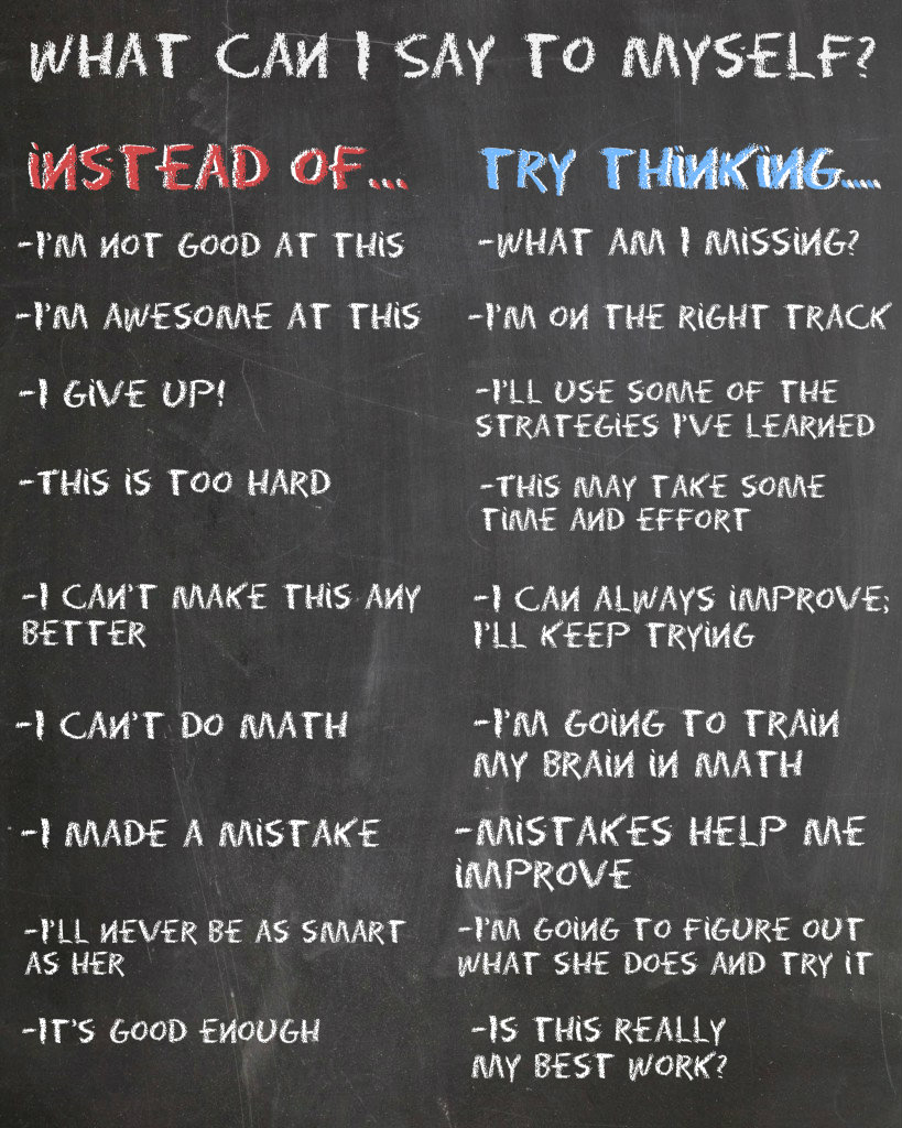 Ways Students Can Develop a Growth Mindset
