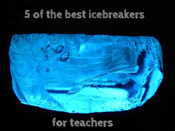 creative writing icebreakers