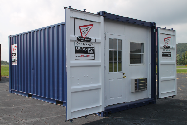 Renting A Pod For Storage : Storage on the spot rents portable containers in ohio
