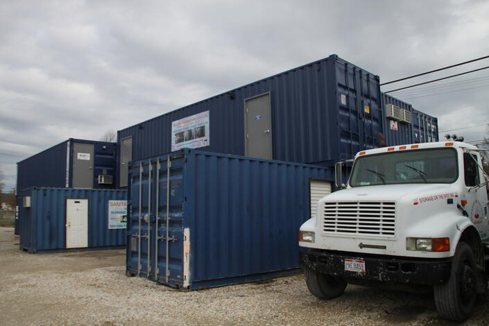 Johnny on the Spot, Storage on the Spot, portable toilet rentals, storage container rentals, portable storage container rentals, rent portable toilet, Ironton Ohio toilet, Ashland toilet, Huntington WV toilet