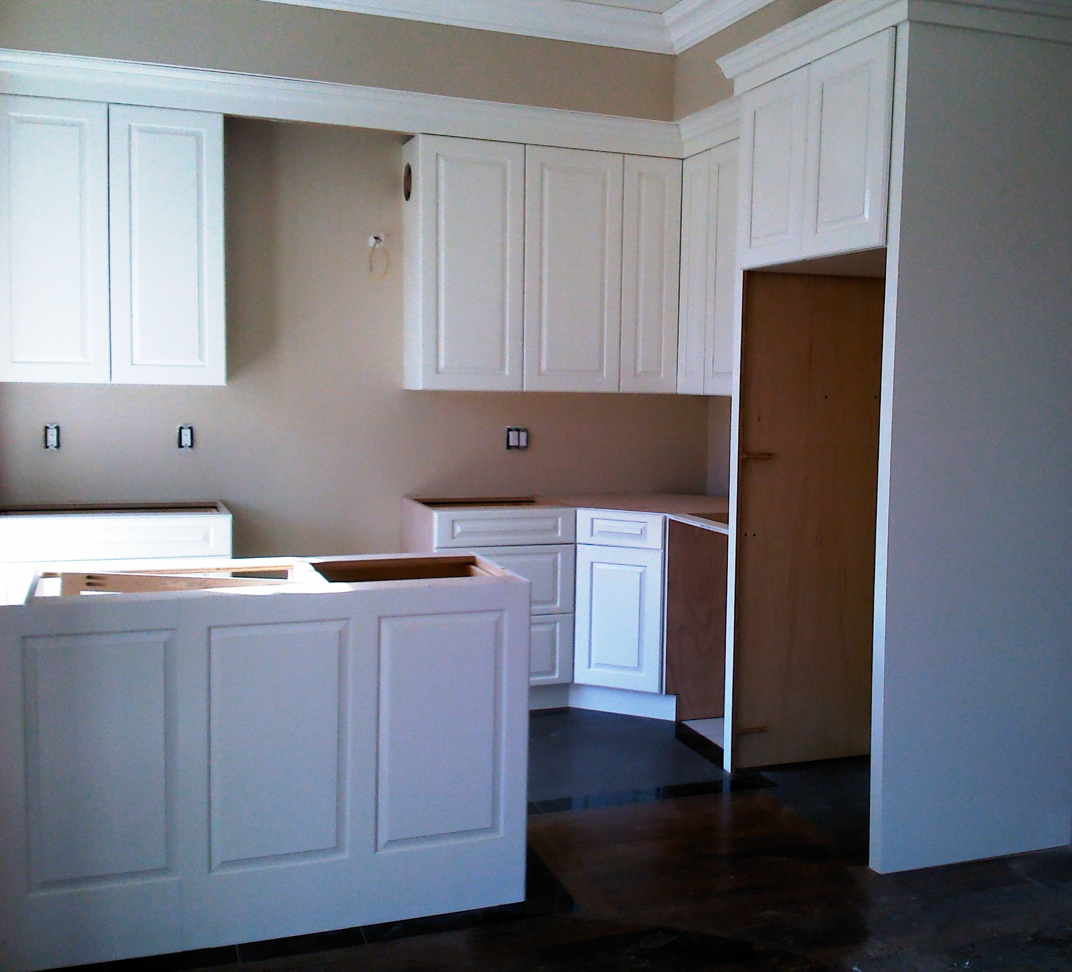 Installing Crown Molding On Kitchen Cabinets: Kitchen Cabinet Installation