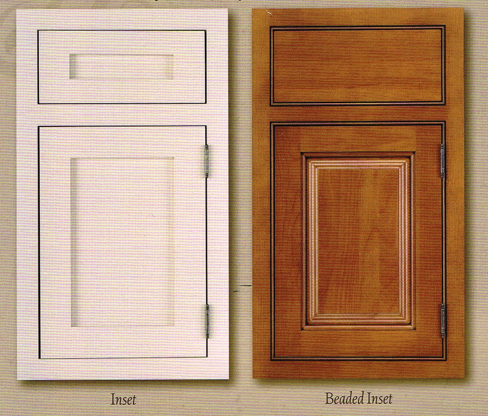 how to select kitchen cabinets cabinetry overlay styles - White Inset Kitchen Cabinets