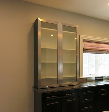 Used Kitchen Cabinets Phoenix Az: Adding Glass Doors To Your Kitchen Cabinetry