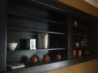 Shadowbox Custom Shelving Units Carpentry Steve Way