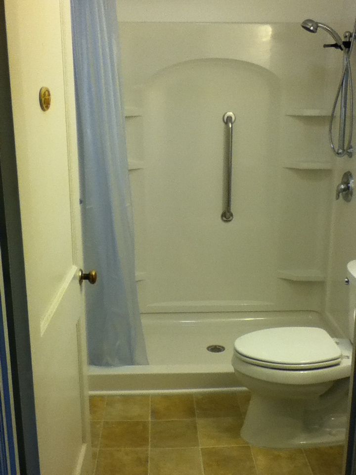 Walk In Shower Bathroom Remodel Steve Way Builders Llc