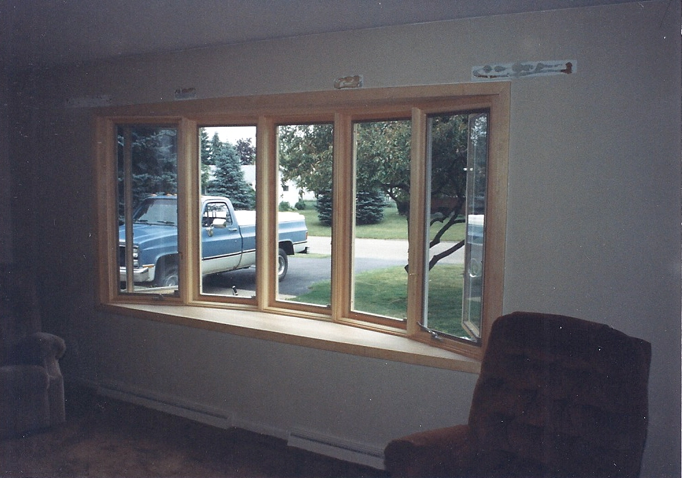 replaced bay window home improvement steve way builders llc