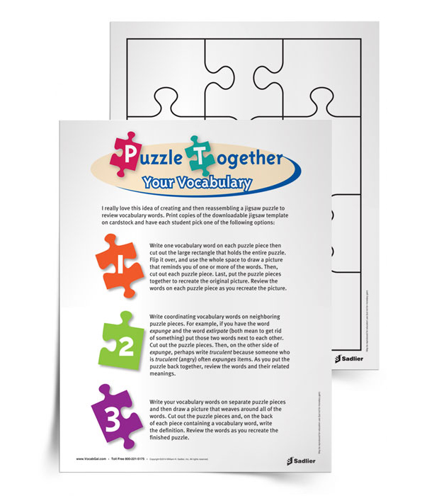 Puzzle-Together-Your-Vocabulary-Activity