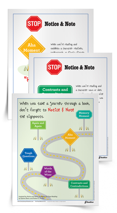 Teaching with the Signposts from Notice and Note: Strategies for ...