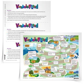 Vocabulary Games for 5th Grade