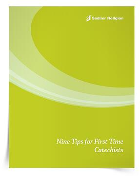 The Nine Tips for First Time Catechists eBook is another preparation resource, but it is written for the new catechist. It offers nine simple tips and hints for a brand-new catechist who may be both excited and nervous about taking on a new role.
