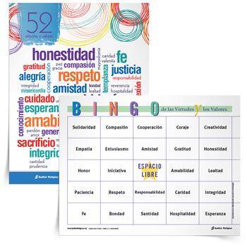Juego-del-Bingo-de-las-virtudes-y-los-valores