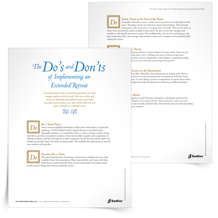 <em>The Do's and Don'ts of Implementing an Extended Retreat</em> Support Article