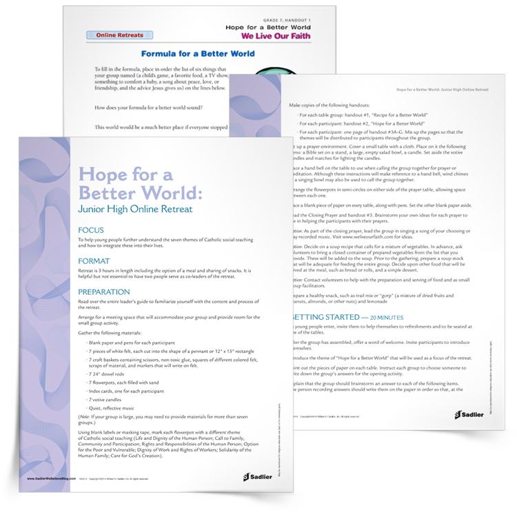 <em>Hope for a Better World</em> Retreat