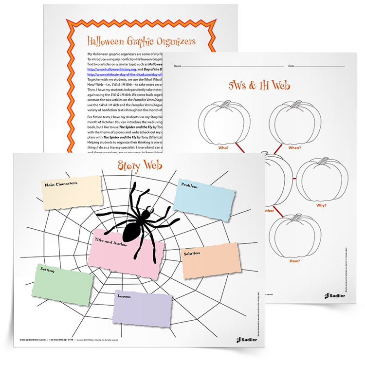 Halloween Reading Comprehension Worksheets and Close Reading Lesson – Halloween Reading Worksheets