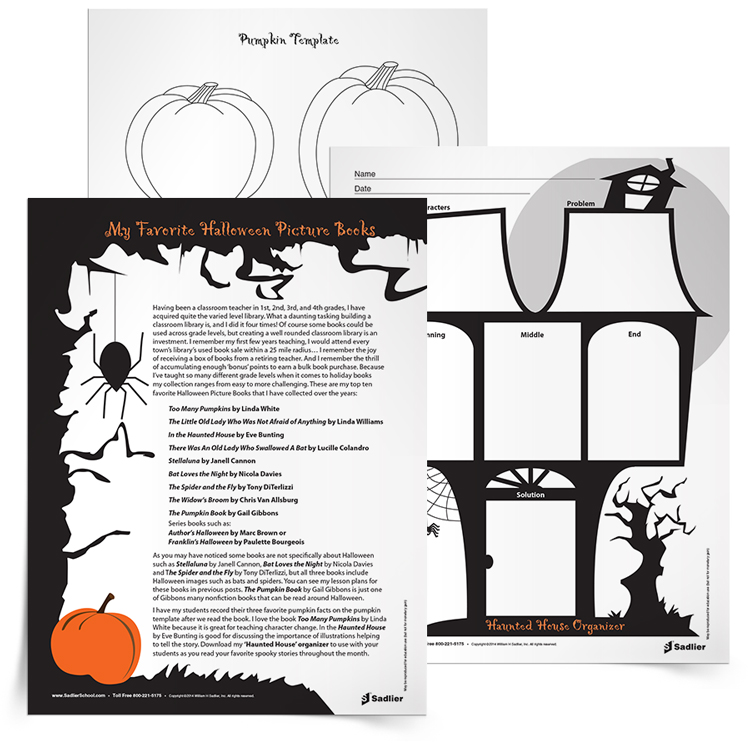 halloween reading comprehension worksheets and close reading lesson - Free Halloween Reading Comprehension Worksheets