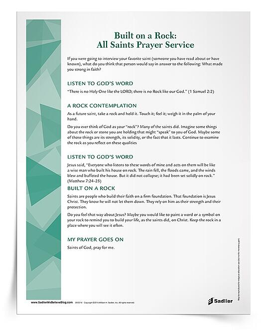 All Saints' Day Prayer Service