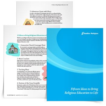 <em>Fifteen Ideas to Bring Religious Education to Life</em> eBook