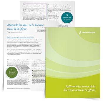 Libro electrónico <em>Aplicando los temas de la doctrina social de la Iglesia</em>
