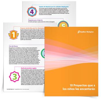Libro electrónico <em>Diez proyectos que a los niños les encantarán</em>