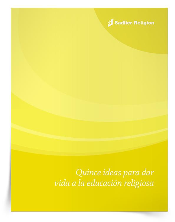 Libro electrónico <em>Quince ideas para dar vida a la educación religiosa</em>