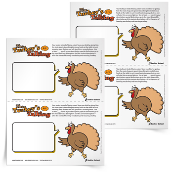The-Turkey's-Talking-Vocabulary-Activity