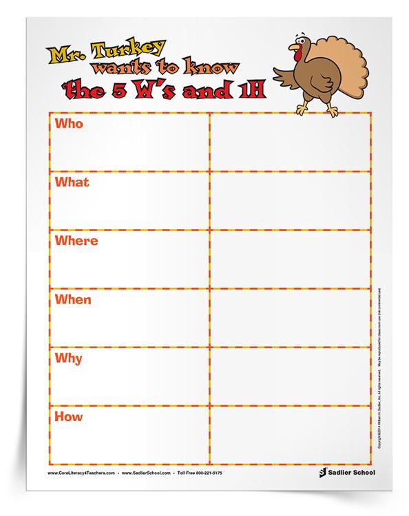 Thanksgiving Reading Comprehension Worksheets For Grades 1–5 [PDF  Printables]