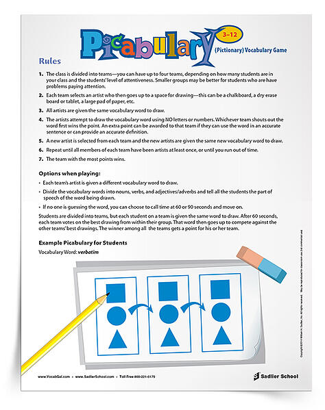 QUICK VOCABULARY REVIEW GAMES TO USE IN CENTERS  The easiest way to review new and past vocabulary words is with vocabulary games. Leading up to semester exams I periodically set up centers of vocabulary games and have students rotate through the stations to review past words.