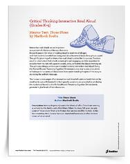 Interactive Read Aloud Lesson Templates - Those Shoes