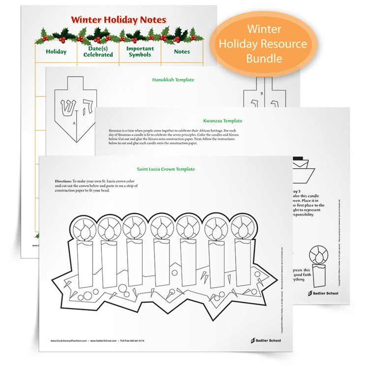 <em>Winter Holiday Resource</em> Bundle