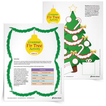 Grammar-Fir-Tree-Activity