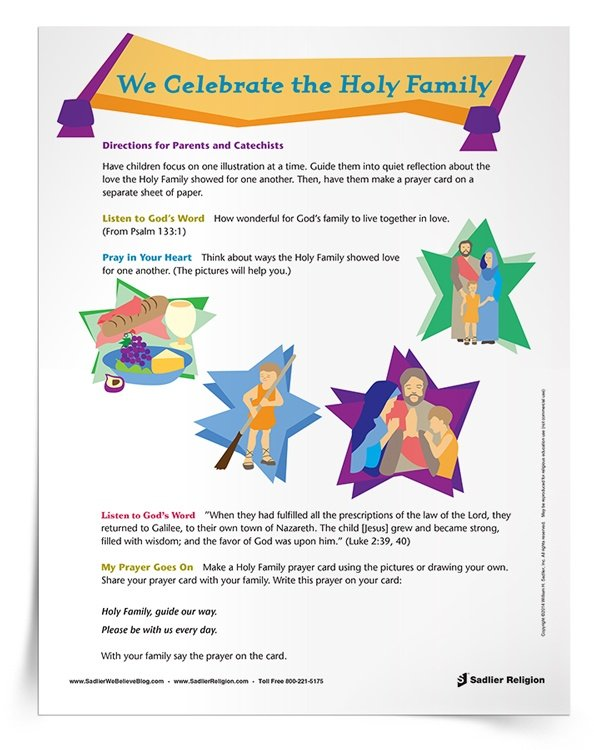 <em>Holy Family</em> Prayer Service